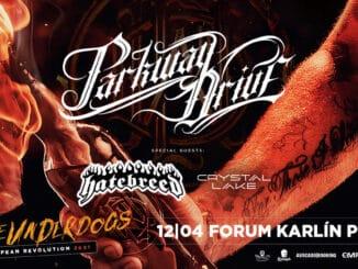 Parkway Drive se vrací do Prahy, v dubnu opět ovládnou Forum Karlín!