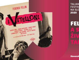 Amarcord a filmové plagáty ako spomienka  na zlatú éru talianskej kinematografie.