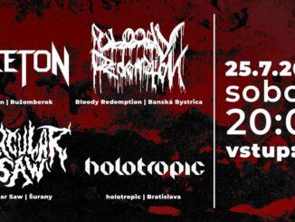Aceton, Bloody Redemption, Circular Saw, Holotropic vo Zvolene!