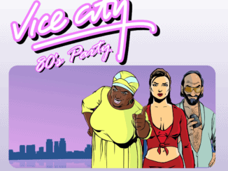 Vice City 80's Party: 29. augusta v KC Dunaj!