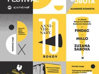 Bratislava Street Art Festival 2020 – 10 rokov street artu!