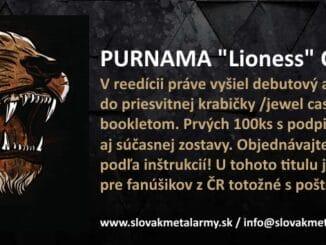 Reedícia Lioness JE HOTOVÁ.