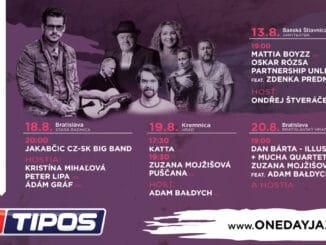 Jazzoví priaznivci sa môžu tešiť:One Day Jazz Festival pokračuje 4 koncertami pre verejnosť.