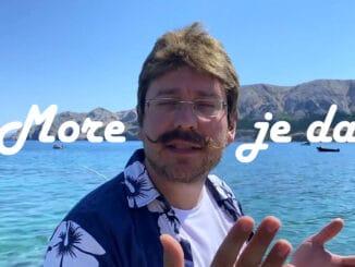"""More je dar – letné osvieženie priamo do vášho prehrávača. Skupina FunTomas prichádza s letnou pesničkou o """"Slovenskom mori""""."""