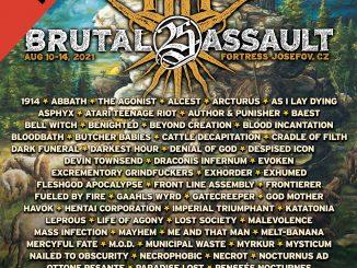 BRUTAL ASSAULT: Potvrzené kapely pro rok 2021!