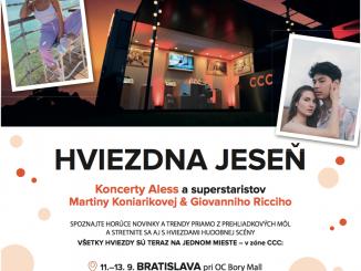 Raperka Aless predstaví svoj nový song v CCC zóne v 5 mestách Slovenska!