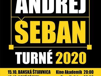 Andrej Šeban KVADROFONICKÉ TURNÉ 2020.