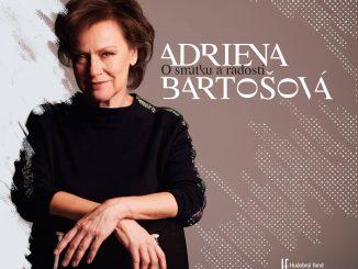 Slovenská jazzová diva Adriena Bartošová vydáva nový album Osmútku aradosti.