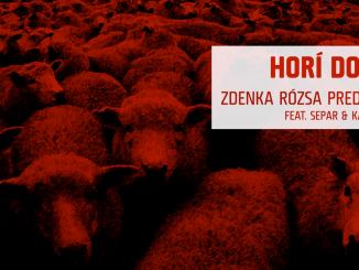 """ZDENKA RÓZSA PREDNÁ""""HORÍ DOM""""(feat. KARLO & SEPAR)."""