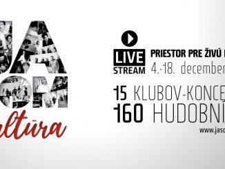 Slovenský projekt, Ja som kultúra. Priestor pre živú kultúru, štartuje už dnes večer!
