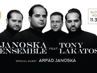 Uznávaný Janoska Ensemble sa predstaví na Slovensku vnovom termíne.
