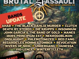 20 nových kapel do sestavy Brutal Assaultu 2021.