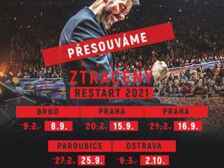 """Marek Ztracený presúva turné """"RESTART 2021"""",Zároveň vydáva koncertné DVD s venovaním."""