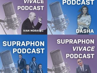 Supraphon spustil svoj vlastný podcast. Prináša dve samostatné edície: Supraphon podcast a Supraphon Vivace podcast.