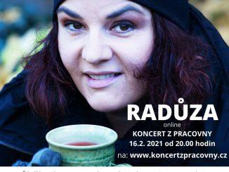Radůza odohrá online koncert zo svojej pracovne.
