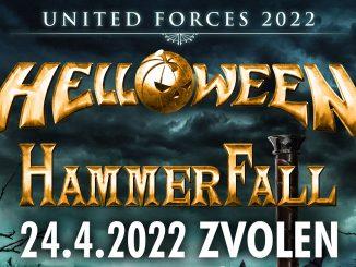 """Čo je to, na čo sa oplatí čakať ??? Turné """"United Forces Tour 2022"""" (SPOJENÉ SILY 2022) - Zvolen - Zimný štadión - 24.4.2022."""