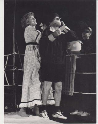 Beáta Drotárová s Jozefom Úradníkom v inscenácii Slovenské tango z roku 1981 - foto: Ondrej Béreš