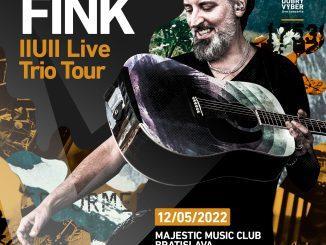 Fink sa na budúci rok vráti do Bratislavy,koncertná séria Dobrý výber pokračuje.
