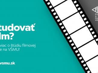 Študovať film? Katedra audiovizuálnych štúdií pozýva na prijímacie skúšky.