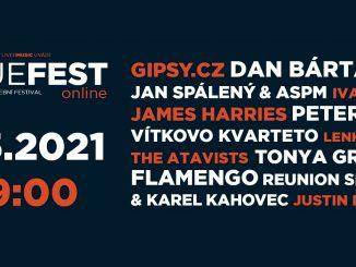 Tradiční mezinárodní festival BlueFest se v květnu uskuteční vonline podobě. Vystoupí na něm více než desítka českých a zahraničních hvězd.