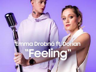 Slovenská SuperStar Emma Drobná a český rapper Dorian natočili nový videoklip. Na smartfón.
