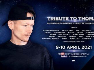 TRIBUTE TO THOMAS:Viac ako 24 hodinový live stream plný hudby na podporu boja srakovinou.