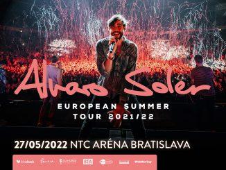 Alvaro Soler presúva turné, v Bratislave vystúpi budúci rok.