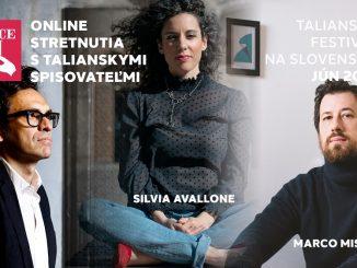 Festival Dolce Vitaj ponúka tri stretnutiastroma významnými osobnosťami talianskej literatúry.
