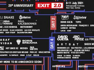20 nových mien 20. ročníka EXIT festivalu 2021! - Asaf Avidan, Artbat, Meduza, Sabaton, Hot Since 82 a veľa ďalších.