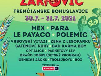 Festival ŽÁKOVIC OPEN bude - vTrenčianskych Bohuslaviciach vypukne 30. a31. júla MALÝ ŽÁKOVIC!