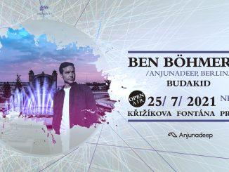 Ben Böhmer zamíří v létě do Prahy na Křižíkovu fontánu.