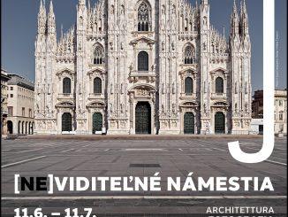 Prázdne talianske námestia ako téma pre 20 talianskych fotografov aspisovateľov, to je výstavný projekt [Ne]viditeľné námestia.