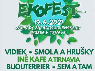 Enviromentálny festival Ekofest sa 19. júna vráti záhrad Západoslovenského múzea v Trnave!