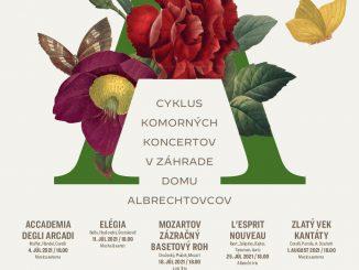 HORTUS ARTIS 2021:Cyklus komorných koncertov v záhrade Domu Albrechtovcov.