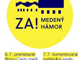 Rozbieha sa iniciatíva za záchranu Medeného hámra, k jeho náplni sa môže vyjadriť aj verejnosť.