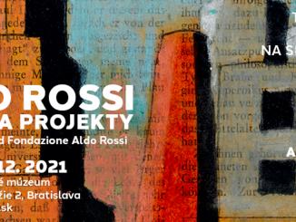 Kresby a projekty slávneho Alda Rossiho po prvý raz vBratislave.