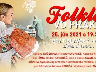 Na Bratislavskom hrade už stavajú pódium na megakoncert Folklór vo fraku!
