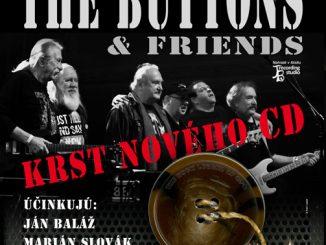 Nový album legendárnych The BUTTONS pokrstí 22. júna v Ateliéri Babylon český rocker Petr Janda!