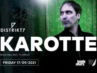 Dopražského klubu Distrikt7 míří producent Karotte.