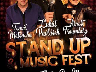 STAND UP & MUSIC FEST, první komediální festival.