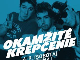 Okamžité krepčenie: 4. septembra v KC Dunaj!