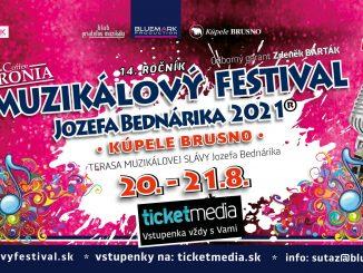 Muzikálový festival opäť rozozvučí dvoranu Kúpeľov Brusno.