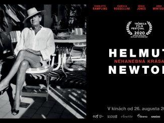 """Majster módnej fotografie Helmut Newton ajeho """"nehanebná krása"""" na plátnach slovenských kín."""