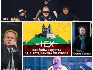 Skupina HEX prezradila hostí na spomienkové koncerty pre Ďuďa vBanskej Štiavnici av Bratislave!