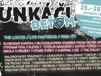 Festival Punkáči Deťom oslávi 10. narodeniny najväčším programom z tohtoročných open-air festivalov.