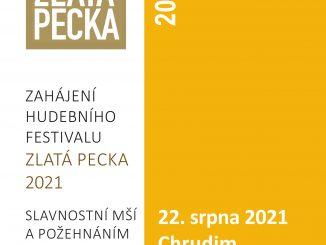 Vneděli bude v Chrudimi slavnostně zahájen tradiční hudební festival Zlatá Pecka. Nabídne koncerty, film, divadlo i výstavu.