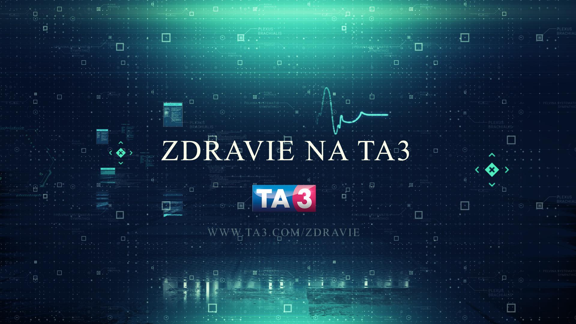 Nová relácia Zdravie na TA3 štartuje už tento štvrtok. - GREGI.NET |  Multikultúrny portál