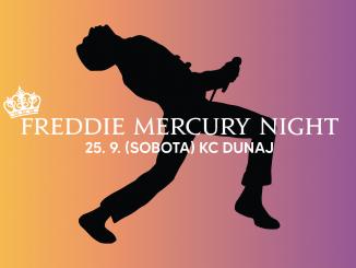Freddie Mercury Night: 25. septembra v KC Dunaj!