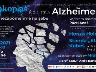 Hudbou proti Alzheimeru v pražském Divadle v Dlouhé.