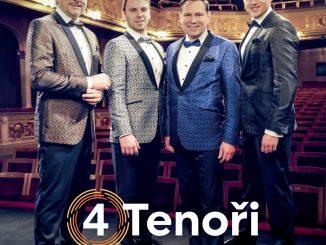 4 Tenoři si prevzali za svoj debutový album Zlatú platňu.Tento rok ich čaká ešte veľké množstvo koncertov.